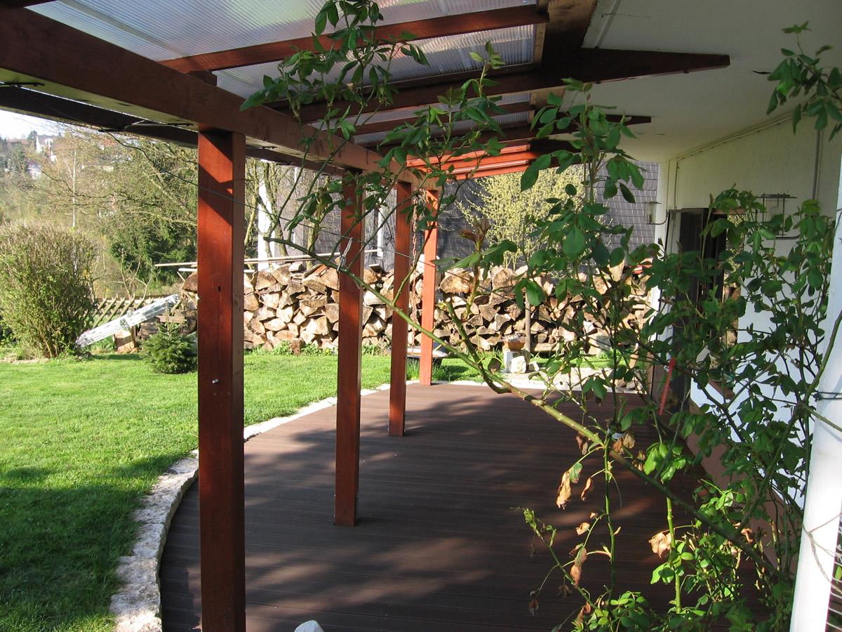 Terrasse Holz Und Stein: Bankirai mit granit garten und landschaftsbau ...