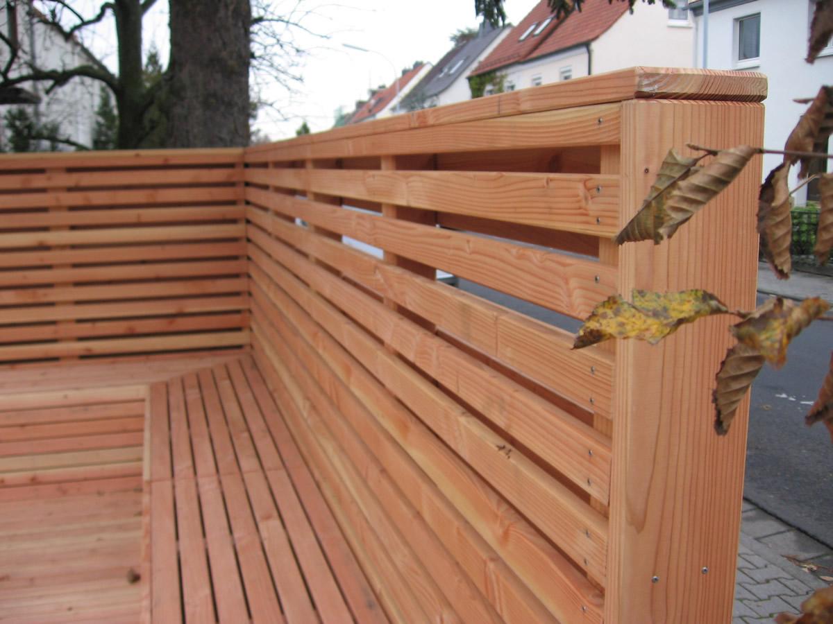 Pergole überdachung Zaun Sichtschutz Von Teichbau Moseler Ihr
