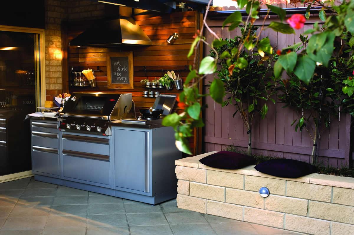 Outdoorküche Stein Erfahrungen : Outdoorküchen von teichbau moseler ihr spezialist für teiche