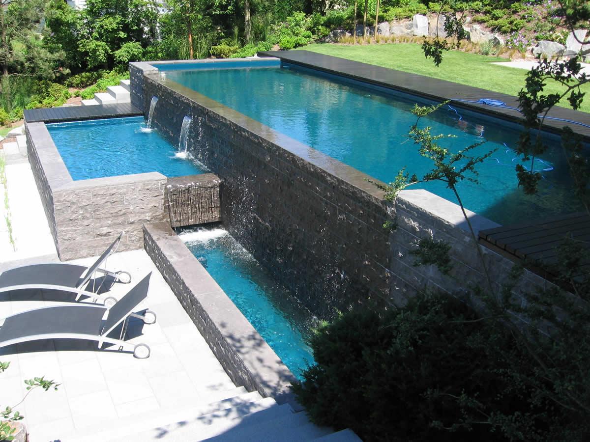 pool steine behncke with pool steine pool gestaltung ideen stein kies terrasse with pool. Black Bedroom Furniture Sets. Home Design Ideas