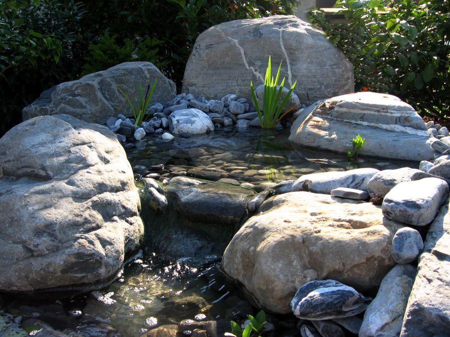 Teich gartenteich von teichbau moseler ihr spezialist - Gartenteich steine ...