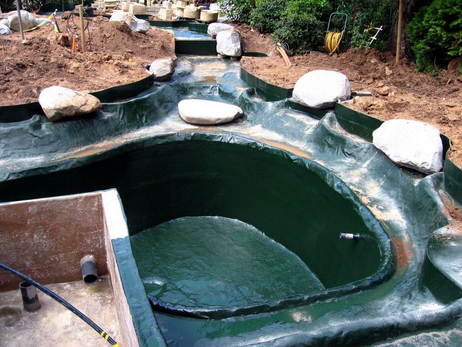 gfk-teichbau . teiche, pools, bachläufe aus gfk von teichbau, Gartenarbeit ideen
